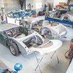 Revealing The Healey Production Line! Metalwork & Restoration Development